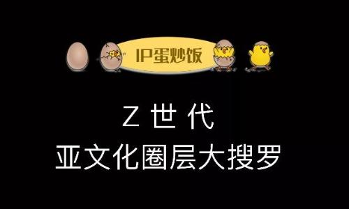 Z世代的亚文化圈层大搜罗